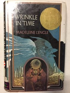 A Wrinkle in Time by Madeleine L'Engle. Farrar, Straus & Giroux, New York, Hardcover. Hardcover with clean dust jacket. Signed by Madeleine L'Engle on title page. A Wrinkle In Time, Madeleine L Engle, Good Books, Books To Read, Free Books, Chapter Books, Have Time, Science Fiction, Childrens Books