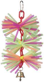 straw chain toy