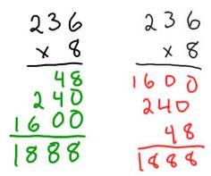 Multiplying tens and hundreds