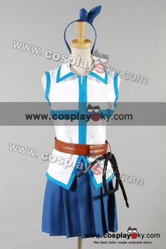 Fairy Tail Lucy Heartfilia Cosplay Costume-1