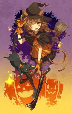 Tepes | anime witch, Hallowee