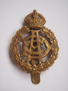 2f1638f6507 WW1 Army Dental Corps Cap Badge