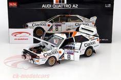 Audi Quattro A2, RAC Rally 1985, No.8, Eklund / Cederberg. Sun Star Models, 1/18, Limited Edition 882 pcs. Price (2016): 65 EUR.