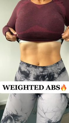 WEIGHTED ABS🔥