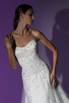Victor Harper - Couture  Designer Bridal Gown - Style VHC236