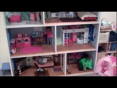 AMAZING American Girl Doll House!  Updated tour!