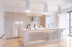10 wyspa kuchenna lampy hokery fototapeta marmur