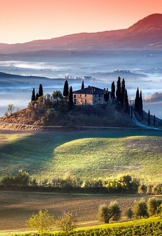 Colors of Tuscany Italy