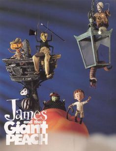 TB083. James and the Giant Peach / American Movie Poster 3 (1996) / #Movieposter