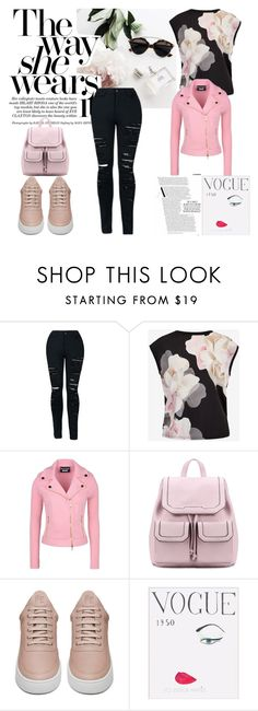 """""""Casual"""" by beatrizcflm ❤ liked on Polyvore featuring Ted Baker, Boutique Moschino, Filling Pieces, WALL, school, template and CasualChic"""