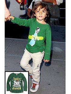 Levi McConaughey in cool Appaman tee!  #Kids #Clothes #Celebrities http://www.devlishangelz.ca/
