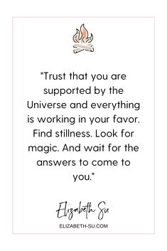 Trust that you are supported by the Universe | how to deal with feeling overwhelmed | trust the universe | how to find peace in your life quotes | how to be content #overwhelm #quotes #universe #trusttheuniverse