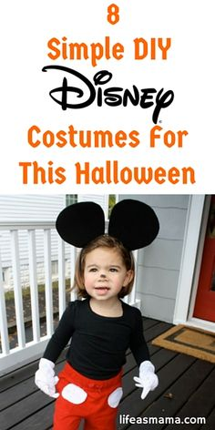 8 Simple DIY Disney Costumes For This Halloween