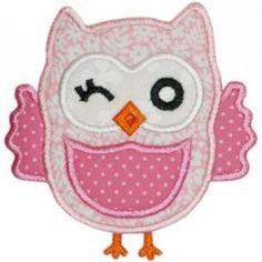 Winky Owl Applique