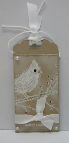 Stampin Up - SU - Beauty of the Season - Christmas Tag