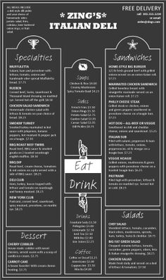 Classic Menu Template   Classic Menu Template And Templates