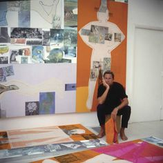 Rauschenberg in China: The 1/4 Mile or 2 Furlong Piece to travel nearly 7000 miles to be exhibited in Beijing, June 2016 | Robert Rauschenberg Foundation