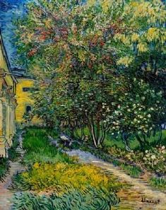 Vincent van Gogh - Van Gogh / St.-Rémy Hospital Garden