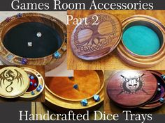 Handcrafted Dice Trays project video thumbnail