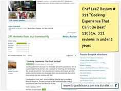 "Chef LeeZ Thai Cooking School in Bangkok review #311 ""Cooking Experience That Can't Be Beat"" now 311 reviews in under 3 years. Clipped from www.tripadvisor.com"
