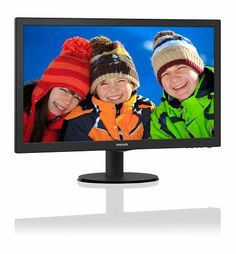 Prezzi e Sconti: #Philips 243v5qhaba 23.6 monitor led full-hd  ad Euro 133.69 in #Philips #Hi tech ed elettrodomestici