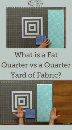 When it comes to buying fabric there are many options. You can purchase any length of fabric you want from off a bolt or you can buy pre cut pieces or bundles of fabric. One of the more popular pre-cut pieces of fabric available today is a fat quarter. ZJ Humbach teaches you what is a fat quarter, exactly how much fabric it is and how it is different from a quarter yard of fabric. Quilting Tips, Quilting Tutorials, Quilting Projects, Sewing Tutorials, Sewing Projects, Quilting Fabric, Fabric Yarn, Buy Fabric, Sewing Hacks