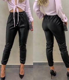 Calça Legging Jeans Fake Imita Jeans Azul Roupas Femininas