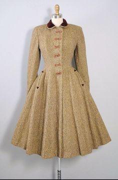 Vintage 1950s Princess Coat // www.geronimovintage.etsy.com