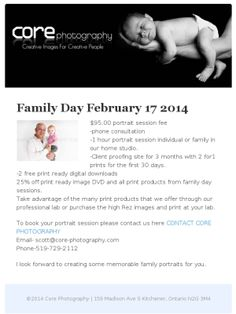 Check out this Mad Mimi newsletter Family Day, Portrait Photography, Mad, Core, Photographs, Check, Photos
