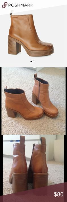 Vagabond TYRA boots Vagabond Tyra boot, size 10, have only been worn one time! vagabond Shoes Ankle Boots & Booties