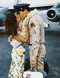 Elvis and Joan Blackman