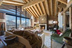 Sommerurlaub im Luxuschalet von Bramble Ski - The Chill Report Ski Chalet Decor, Chalet Interior, Luxury Interior, Zermatt, Design Hotel, Luxury Ski Holidays, Spa, Elegant Dining Room, Cinema Room