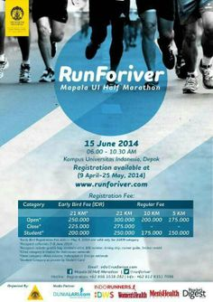 This RunForiver, just run and you will help Ciliwung River! for a better ciliwung :)