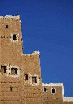Najran houses - Saudi Arabia