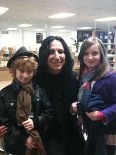 Alan Rickman | Snape being cute