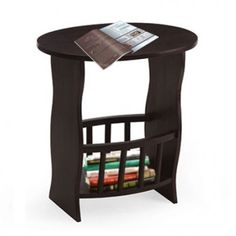 The magazine stand helps to keep the magazines and brochures handy. Ross Magazine Rack in Walnut Finish is a trendy design and thus, is suitable choice to complement the contemporary interiors. Get cool #MagazineRack designs at #WoodenSpace available in amazing collection.
