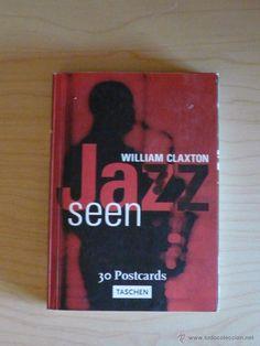 27 POSTCARDS TASCHEN - POSTALES - JAZZ SEEN - WILLIAM CLAXTON