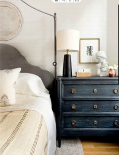 Love the blue dresser