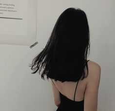 50 Ideas For Short Dark Hair Aesthetic Faceless Hair Inspo, Hair Inspiration, Foto Art, About Hair, Dark Hair, Hair Looks, Hair And Nails, My Hair, Cool Hairstyles