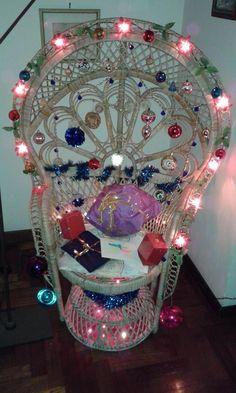 emmanuelle peacock chair christmas decoration ornament unusual unconventional