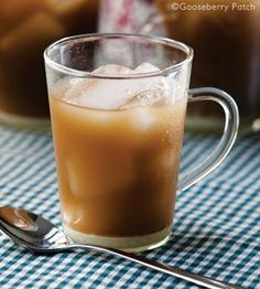 Gooseberry Patch - Our Best Summer Drinks: Sweet & Easy Iced Coffee. Stir in a little chocolate or caramel sauce for an extra-special treat