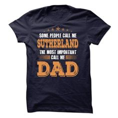 SUTHERLAND DAD! - #tshirt drawing #hooded sweatshirt. PRICE CUT => https://www.sunfrog.com/St-Patricks/SUTHERLAND-DAD.html?68278