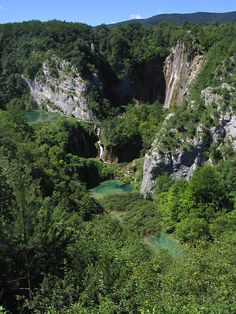 Jeziora Plitwickie, Chorwacja