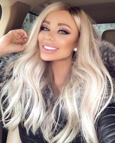 Shop our online store for blonde hair wigs for Fashion Ombre Blonde Wigs Blonde Wig From Our Wigs Shops,Buy The Wig Now With Big Discount. Blonde Brown Hair Color, Blonde Wig, Brown Hair Colors, Blonde Balayage, Blonde Hair Extensions, Platnium Blonde Hair, Blonde Fringe, Blonde Hair Makeup, Blonde Hair Blue Eyes