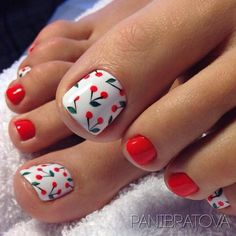 The best ideas for nail pedicure design for summer 2018