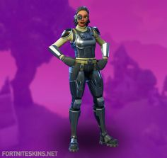 Steelsight Outfit in Fortnite Battle Royale.