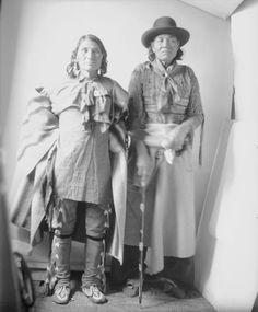 Amerindian: Delaware (Leni Lenape) - Historical photoes