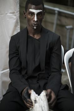 Visions of the Future: bleumode-noir: Adonis Bosso for Julius SS16