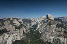 Vue de Glacier Point / Yosemite National Park