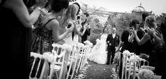 Wedding outdoor ceremony
